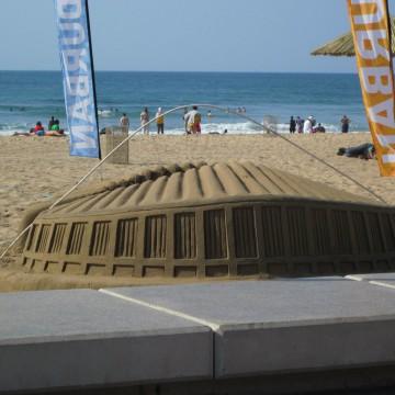 Moses Mabhida Sand Sculpture