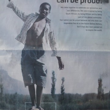 Pick n Pay ad - South Africa, you can be proud